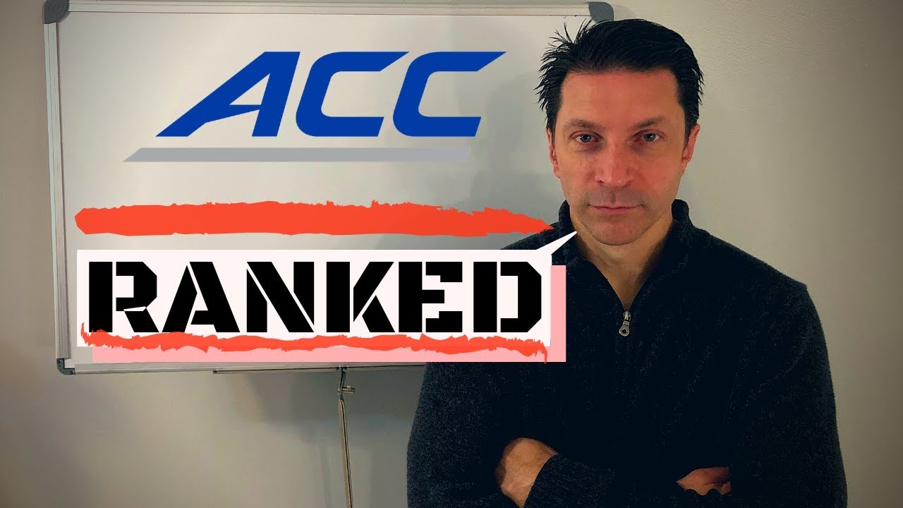 College Football Conference Rankings / ACC ONE TEAM LEAGUE