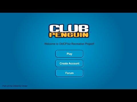 Club Penguin: Old Club Penguin Website!