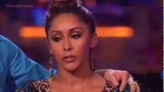 Nicole (Snooki) Polizzi & Sasha   Samba  Week 7