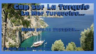 CAP SUR LA TURQUIE N°2 : De Caunos à la mer Turquoise (Carnet de voyage Turquie). !