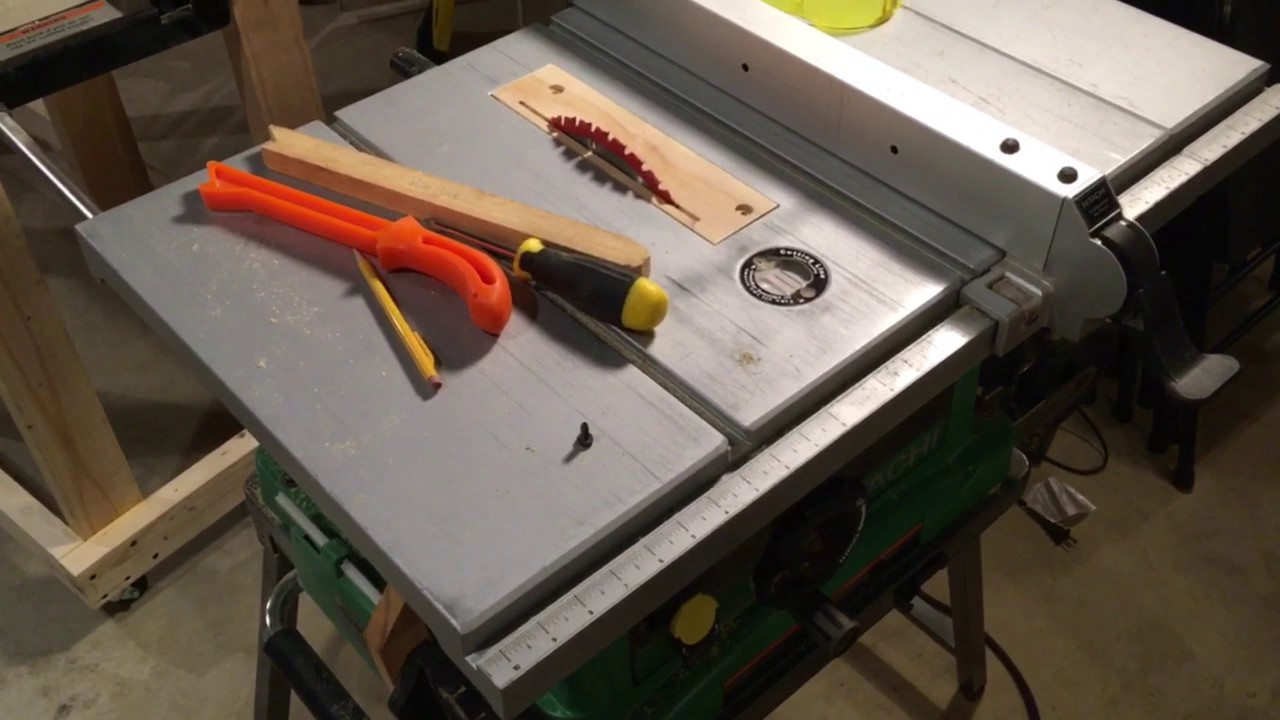 My Table Saw Hitachi Cf 10r Youtube