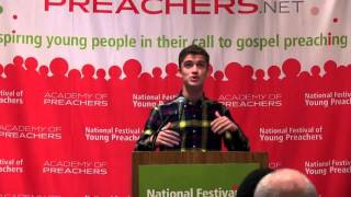Joshua Solowey, 2014 National Festival of Young Preachers
