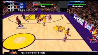 NBA Action 98 Sonics vs Lakers Part 3