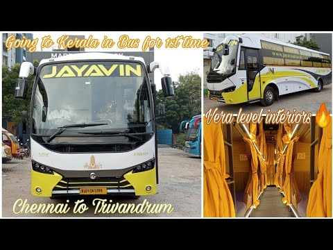 Interstate bus review after Lockdown🔥| Jayavin Travels| Chennai to Trivandrum| KL series| Vlog - 76