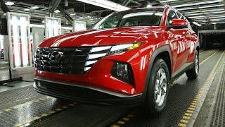 Hyundai TUCSON 2022 года - ПРОИЗВОДСТВО