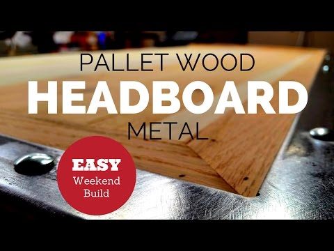 Building a Headboard from Recycled Pallet Wood