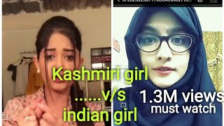 #samthefun |KASHMIRI GIRL V/S INDIAN GIRL| GIRLS COMPETITON| BOYS V/S GIRLS|TODAYS FUN |BB KI WANES