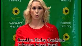Brooklyn Kinlay Independent Green Party