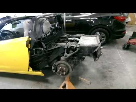 2007 Chevy Corvette Rear Tub Replacement and Rear Repair