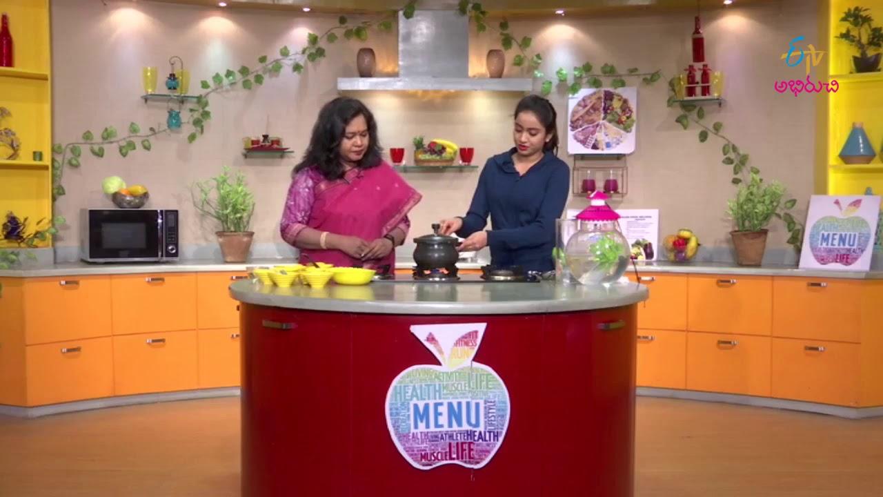 Chicken munakkada soup | Diet Menu | 22nd August 2017 | Full Episode | ETV Abhiruchi