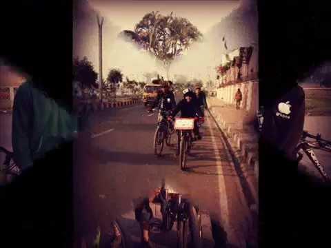 Bicycle Rally On World Hijab Day In Bangladesh 2015