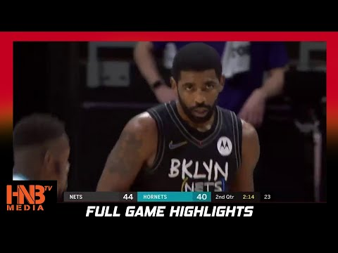 Brooklyn Nets vs Charlotte Hornets 12.27.20 Full Highlights