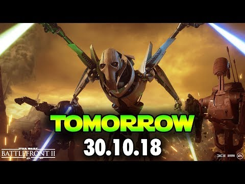 ONE MORE DAY! Star Wars Battlefront 2 General Grievous Hype! thumbnail