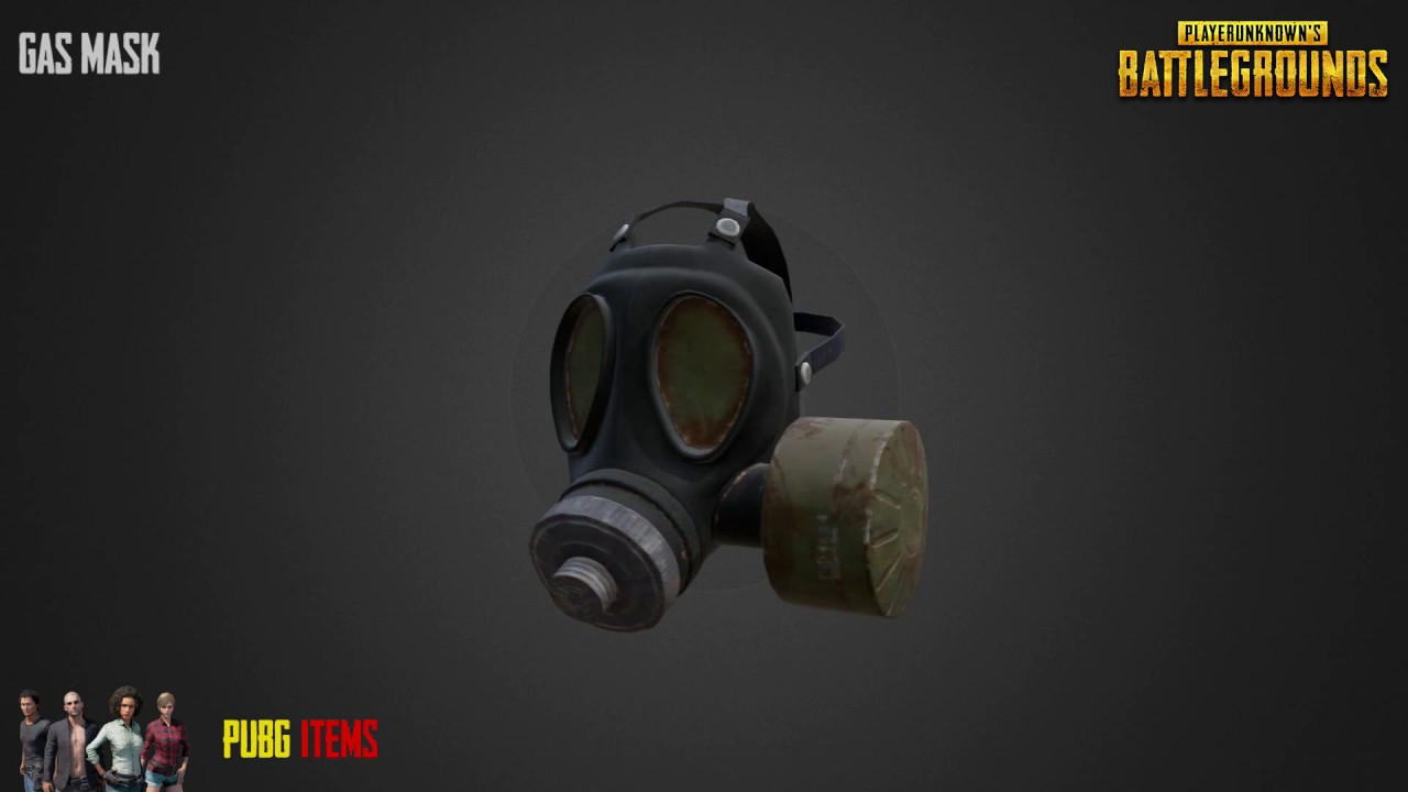 Gas Mask Pubg Item Showcase Youtube