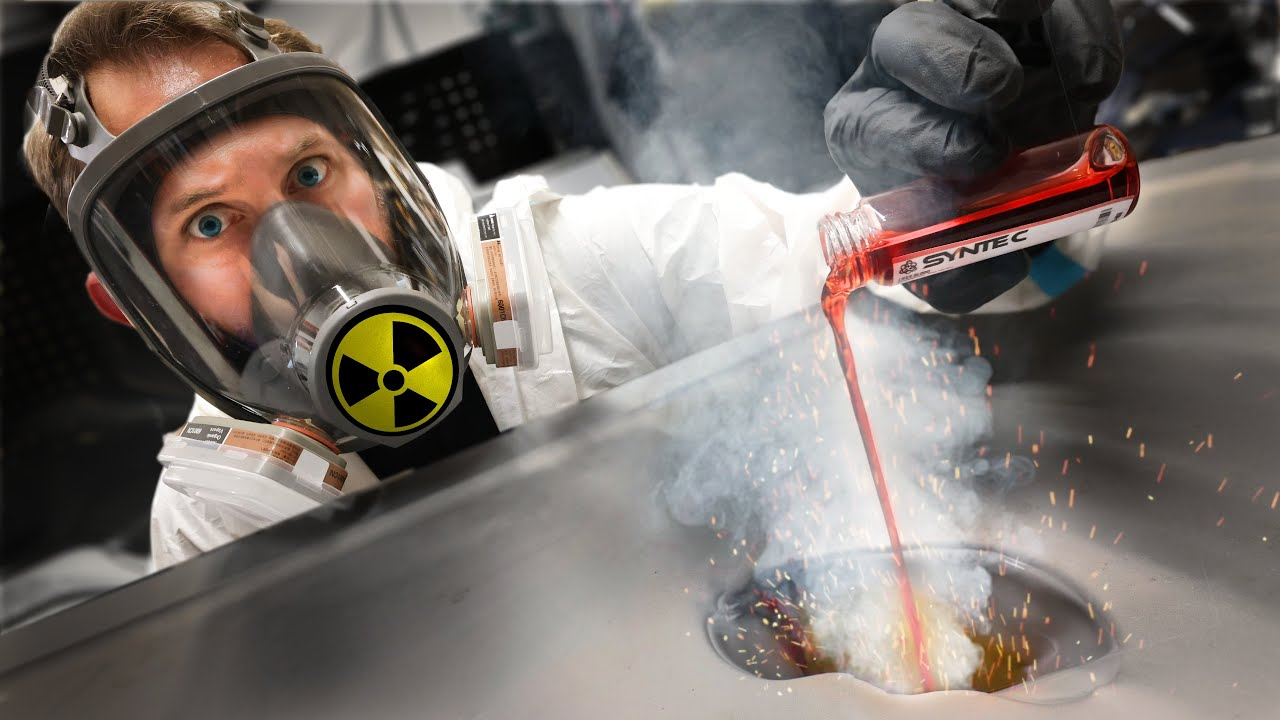 Experimenting with A Radioactive Toxic Serum! *Dangerous!*