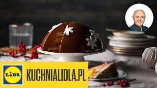 Tort cynamonowo-makowy - Paweł Małecki - przepisy Kuchni Lidla