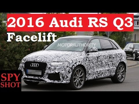 2016 Audi RS Q3 Facelift Spy Shot !
