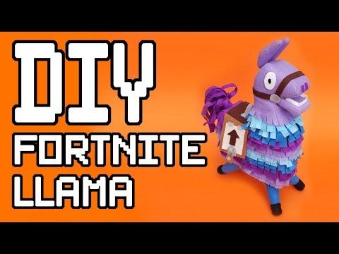 Fortnite : Supply Llama Plush DIY Tutorial