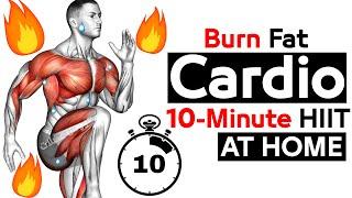 Rotine Cardio Hitt 10 Min At Home ?? (EXERCISE 7 )