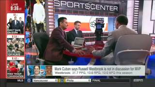 Stephen A. Smith on Russell Westbrook for MVP