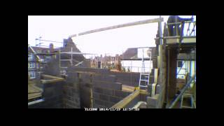 Week 11 Self Build Brick House Time Lapse Uk