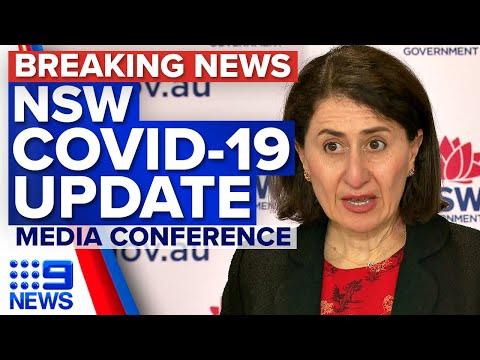 NSW Premier reports 1290 local COVID-19 cases | Coronavirus | 9 News Australia