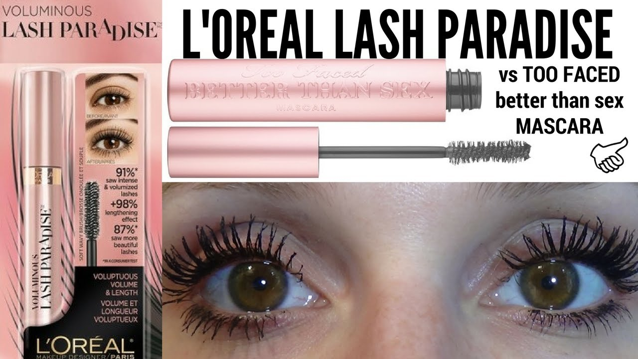 f5e8daad302 Loreal Lash Paradise Review (BETTER THAN SEX DUPE!?)   LadyLuckTutorials