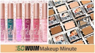 Makeup Minute | NEW TOO FACED MELTED MATTES COMING SOON + NEW POWDER FOUNDATION FROM THE BALM!