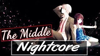 Nightcore - The Middle (Lyrics)