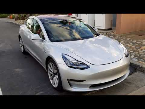 AMAZING! Tesla Model 3 Snow Chains Wheel For Winter Driving