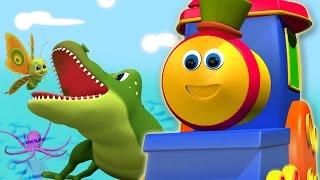 Боб, поезд | боб поезд животных аЬс песня | детские песни | Bob Abc song