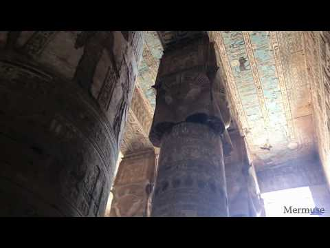 Voices of the Past by Erika Mermuse:  Inside Hathor's Temple at Dendera
