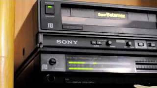 Expired Formats: Sony Betamax HFR-70 records off HD-DVD stunning results!