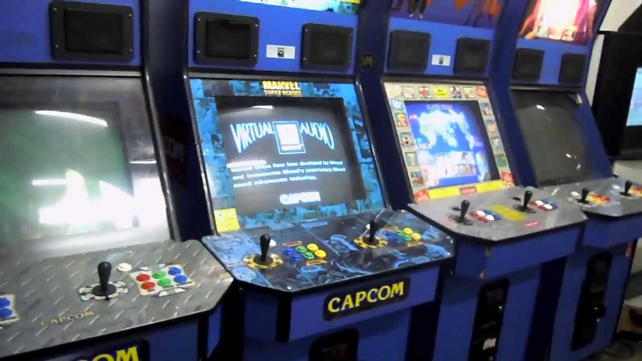 capcom vs snk arcade machine