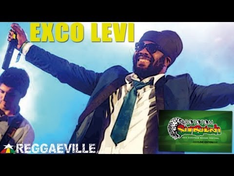 Exco Levi - Life In The Factory/Real Reggae Music @ Rototom Sunsplash 2013 [August 18th]
