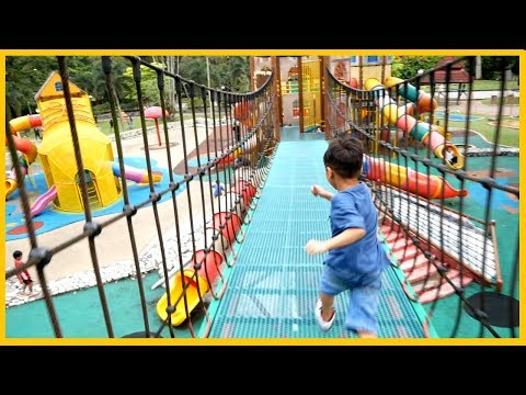 Playground Fun Kids Dinosaur Park Playtime At The Park  Family Fun With Awesome Toys Collectors