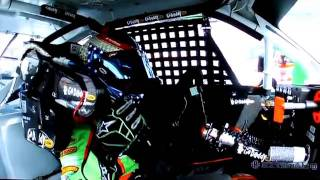 Danica Patrick Wrecks At Bristol And Gets Angry (in car audio).