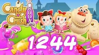Candy Crush Soda Saga Level 1244