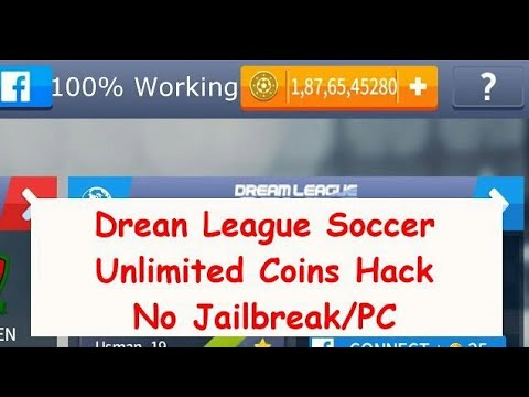 របៀបhack dream league2017 នៅលេី IOS jailbreak | 100% no (khmer) easy