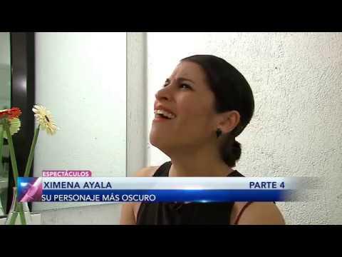 Ximena Ayala: ¿Cuál ha sido su personaje más oscuro?