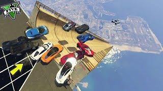GTA 5 ONLINE 🐷 MEGA RAMPA MODDATA XXXL !!!🐷 GARE STUNT 🐷N*212🐷 GTA 5 ITA 🐷 DAJE !!!