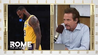 The LeBron Era in L.A. Begins with a Loss | The Jim Rome Show
