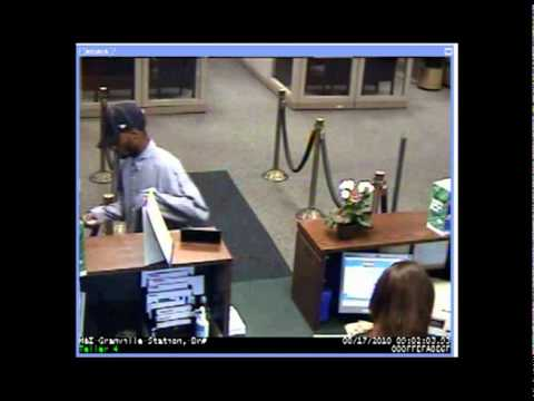 Bank Robbery -- 08/1710 -- M & I Bank -- 9001 N. 76 St.
