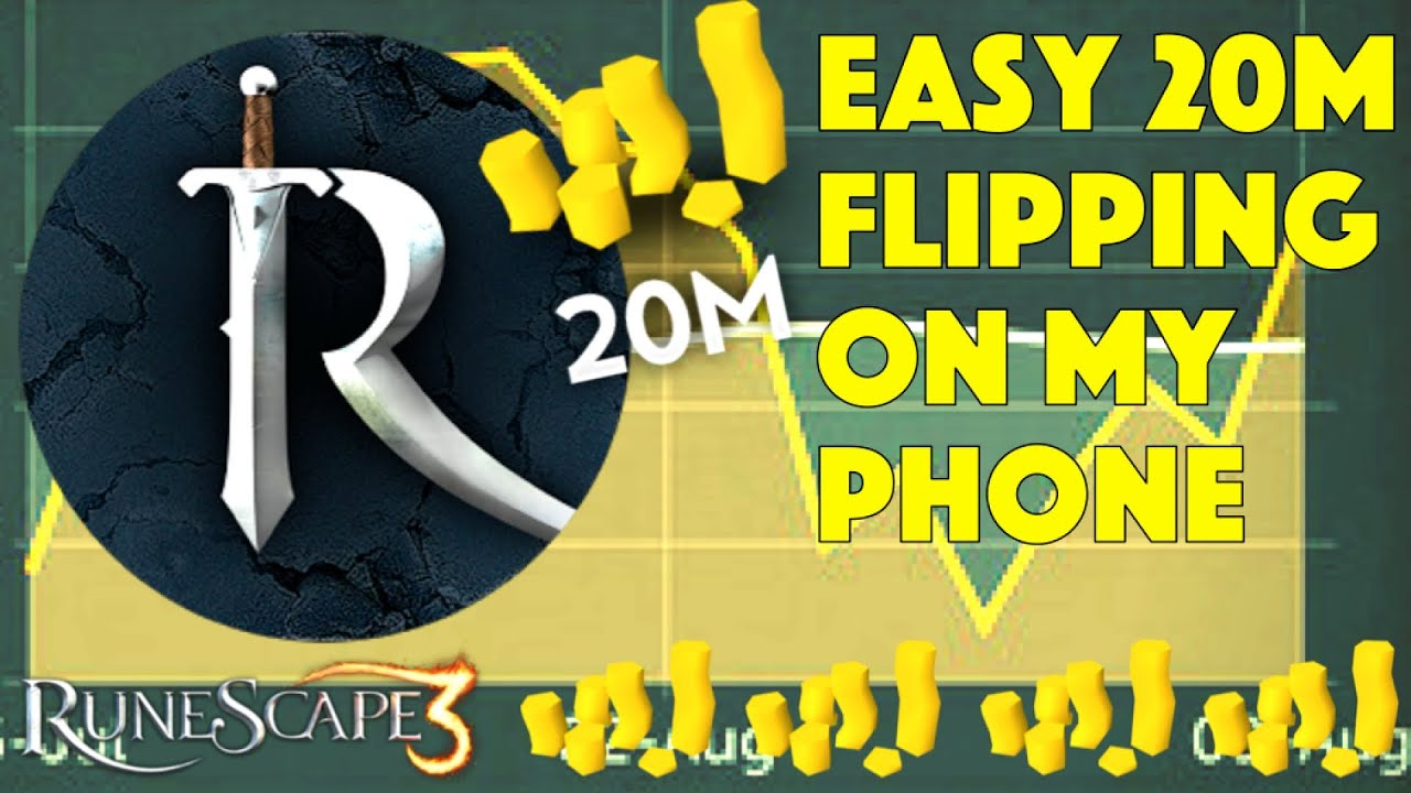 Easy 20m Flipping On The Rs Companion App Runescape 3 2018 Youtube