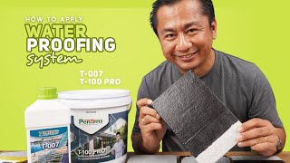Product Review | How to apply waterproofing system | Pentens T-100 Pro Bituminous PU & T-007 Primer