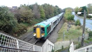 London Midland Class 172 X2 On 2s62 Great Malvern To Whitlocks End At Fernhill Heath