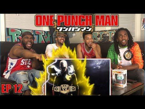 SAITAMA VS LORD BOROS: ONE PUNCH MAN EPISODE 12 REACTION/REVIEW