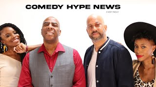Announcing 'The Comedy Hype News Show' With Pierre, Capone, Rita Brent, & Symphony Thompson
