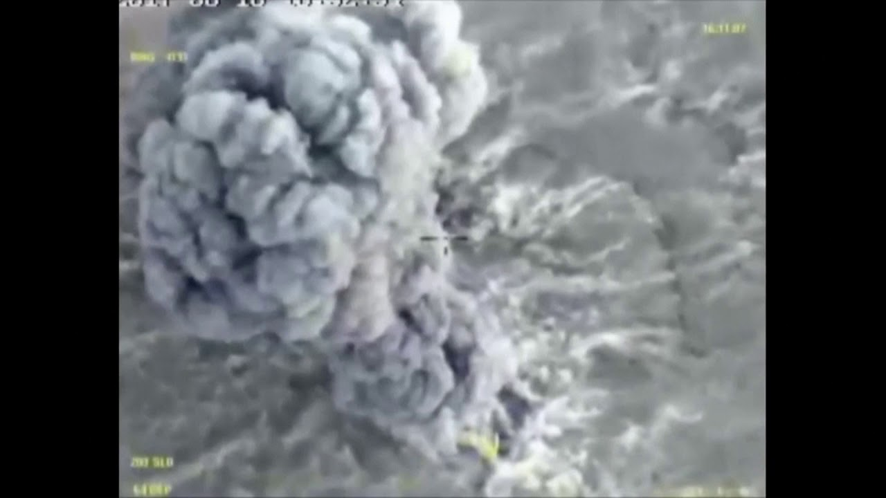RAW: Russian MoD releases footage of air force strikes on ISIS targets in Syria
