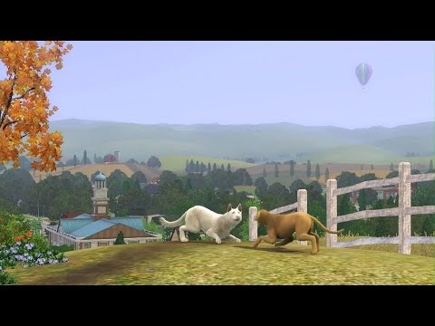 The Sims 3 Pets - Short Gameplay
